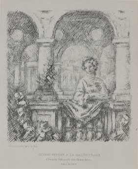 Charles Guerin Lithograph