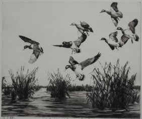 Richard E. Bishop Etching And Drypoint