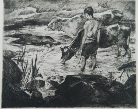 John Costigan Etching