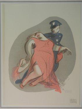 Al Hirschfeld Lithograph
