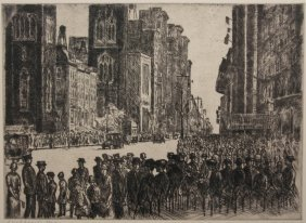 Chester Leich Etching