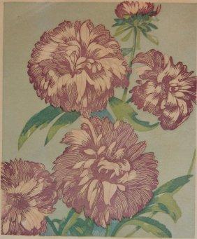 M. Vaughn Millbourn Wood Engraving