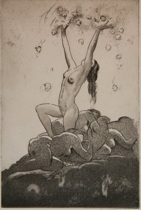 Frank Nankivell Etching And Aquatint