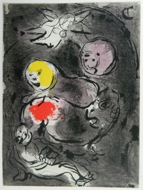 After Marc Chagall Lithograph