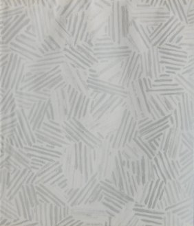 Jasper Johns Off-set Lithograph