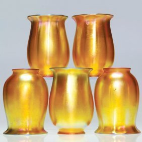 Quezal Glass Shades