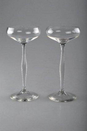 Peter Behrens, Zwei Champagnerschalen, 1899