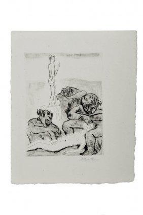 Hermann Max Pechstein, 'Yali III (Der Traum Des M�