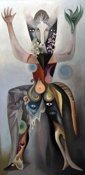 Gabriel Pellon, 'Sphinx', Um 1960