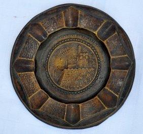 Bezalel Brass Ashtray 1920's