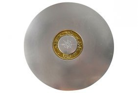 "Lurelle Guild ""compass Platter"" For Kensington"