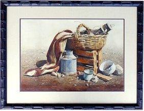 Original Watercolor By Elias Florentino Condori