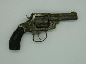 Smith & Wesson .32 Break Top Revolver And Leather Gun
