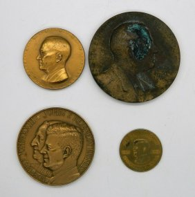 Lot Of Four Presidential Medals