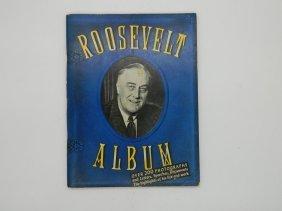 1945 Franklin Delano Roosevelt Album