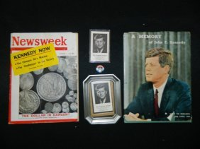 Lot Of John F. Kennedy Memorabilia