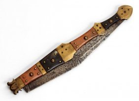 Large French Or Spanish Navaja Folding Knife