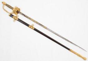 U.s. Model 1860 Staff & Field Officers Sword