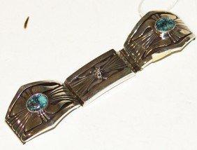 Navajo Watchband - Leonard Nez