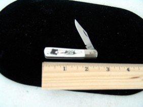 Scrimshaw Knife