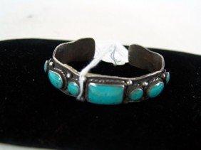 Navajo 7 Stone Bracelet