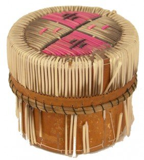 Iroquois Birch Bark Basket