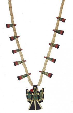 Pueblo Thunderbird Necklace
