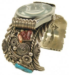 Navajo Watch Bracelet- R. Benally