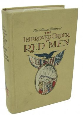 Improved Order Of Red Men Book