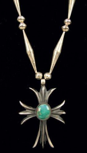 Navajo Cross Necklace - HB