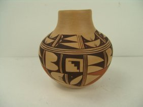 Hopi Pottery Jar- Colleen Poleahla