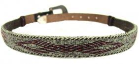 Vintage Horsehair Belt