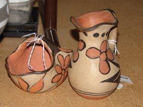 2 Santo Domingo Pottery