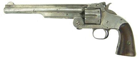 Marshal Sylvester V Davis Smith  Wesson No  American Model