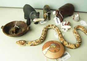 Pottery Animal Collection