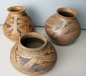 3 Casas Grandes Southwest Pottery Ollas