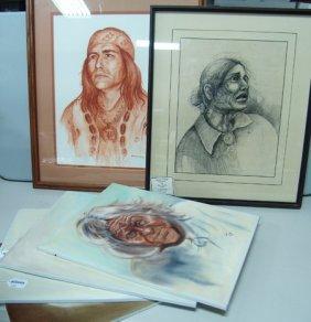 6 Original Paintings