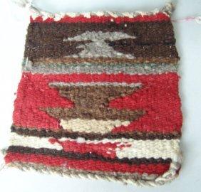 Navajo Child's Weaving