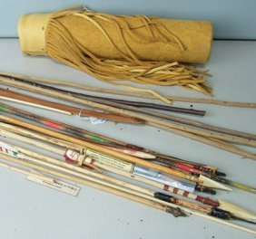 Bow, Arrows, And Quiver