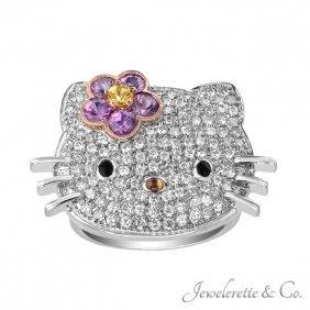 Kimora Lee Simmons For Hello Kitty, 18k Ring