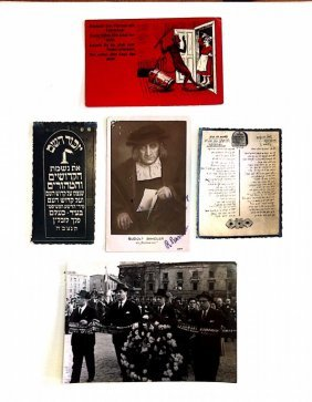 Antisemitism And Holocaust - Rare Postcards And