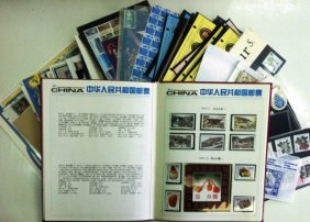 Large Collection Of Stamps: Special Sheets, Souvenir