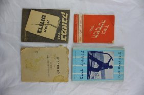 Rare Booklets From The Days Of The Struggle Against The