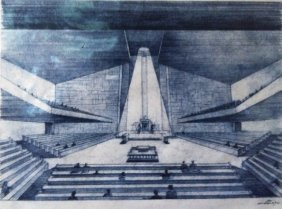 The Original Sketches Of The Great Synagogue In