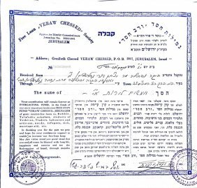 Collection Of Rabbis Signatures