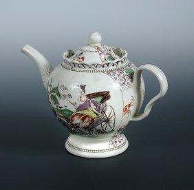 A William Greatbatch Tea Pot And Cover