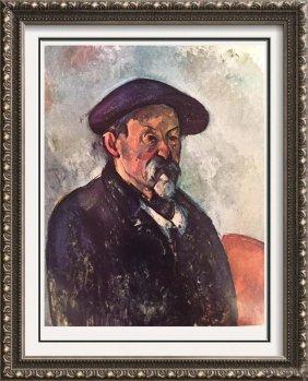 Paul Cezanne Self-portrait With Beret C.1900 Fine Art