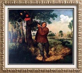 Pieter Bruegel The Bird's Nest C.1568 Fine Art Print