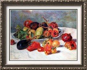 Auguste Renoir Fruits Of The Midi C.1881 Fine Art Print