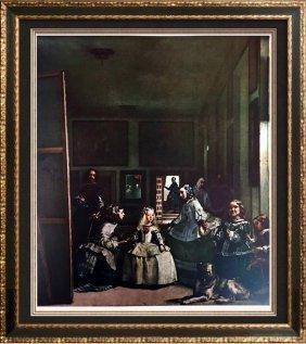 Diego Velazquez The Maids Of Honoe (las Meninas) C.1656
